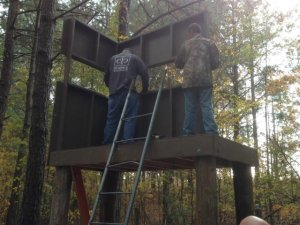Our newest box or tower stand | North Carolina Hunting and Fishing