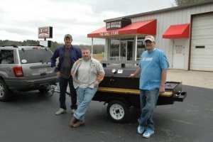 Custom made smokers/grills in NC & SC | North Carolina
